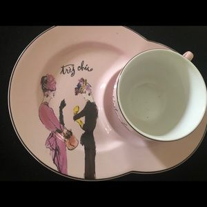 Rosanna 'Ladies Who Lunch' Tres Chic plates/cups